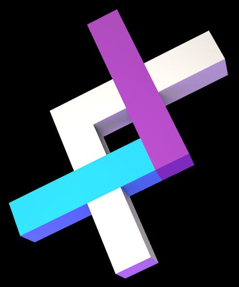Počítačová společnost 3D logo